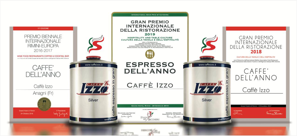 About Caffe Izzo coffee products