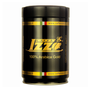 Caffe Izzo 100% Arabica 250g Can Ground