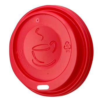 Lid Sip Red Coffee Cup 250ml